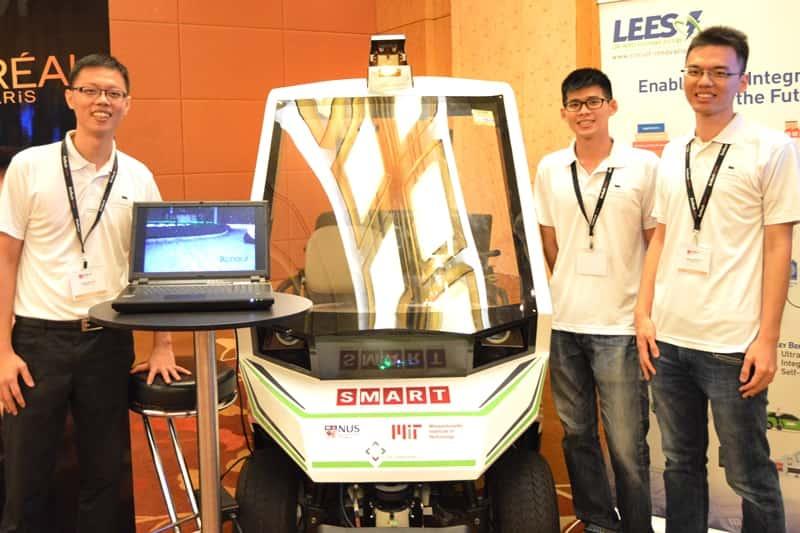 SMART unveils new Autonomous Buggy at EmTech Asia