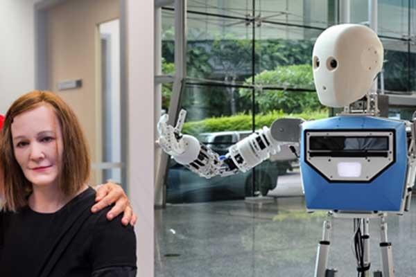 Nanyang Technological University invents two social and telepresence robots
