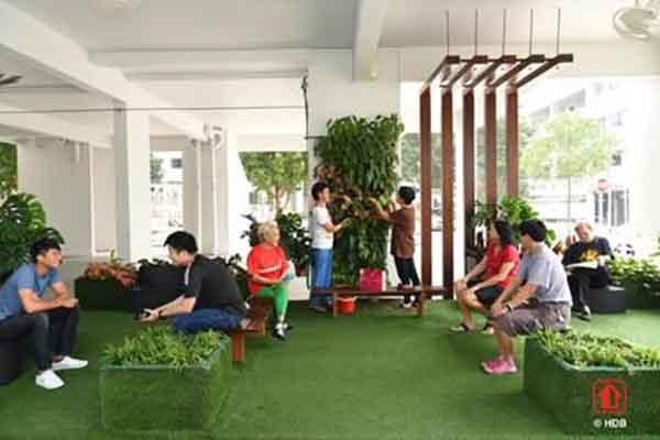 HDB Greenprint @ Yuhua welcomes Singapore's first green neighbourhood