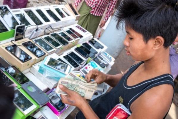 Payments across Social Networks in Myanmar