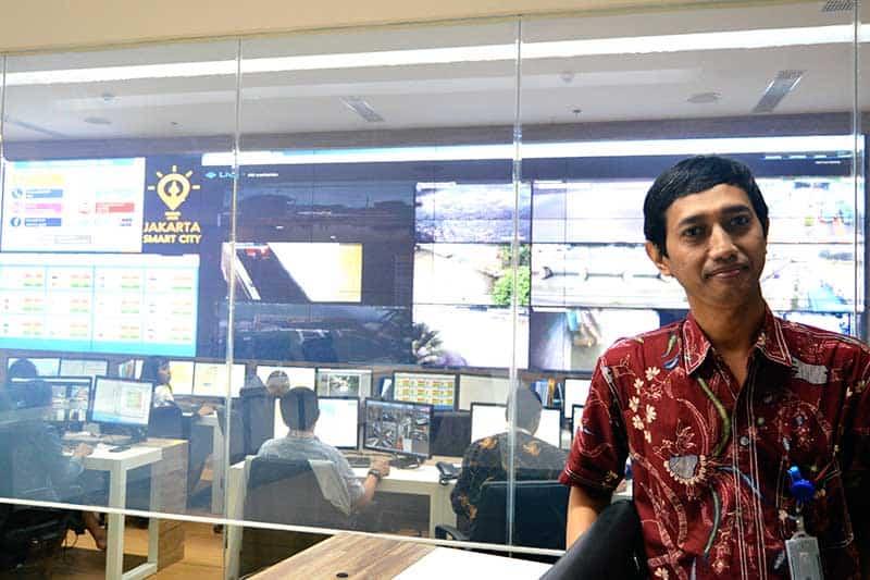 Inside the Jakarta Smart City Lounge: Working to embrace big data