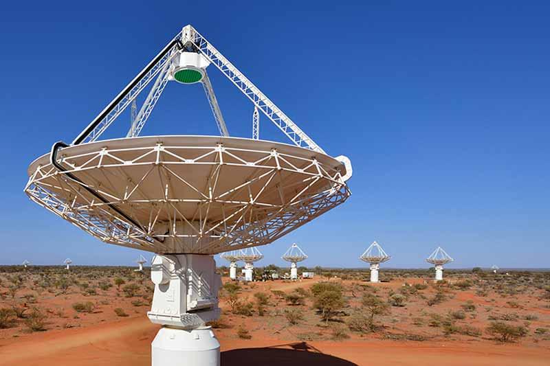 Australian Square Kilometre Array Pathfinder starts generating data at 15% of global internet traffic rate