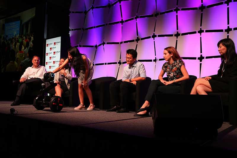 Addressing eldercare challenges at MIT Hacking Medicine Robotics Singapore 2017