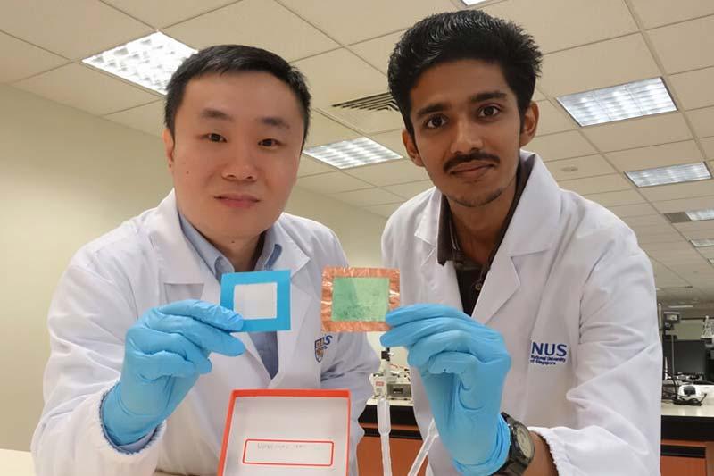 National University of Singapore team develops nanofibre solution that creates thin
