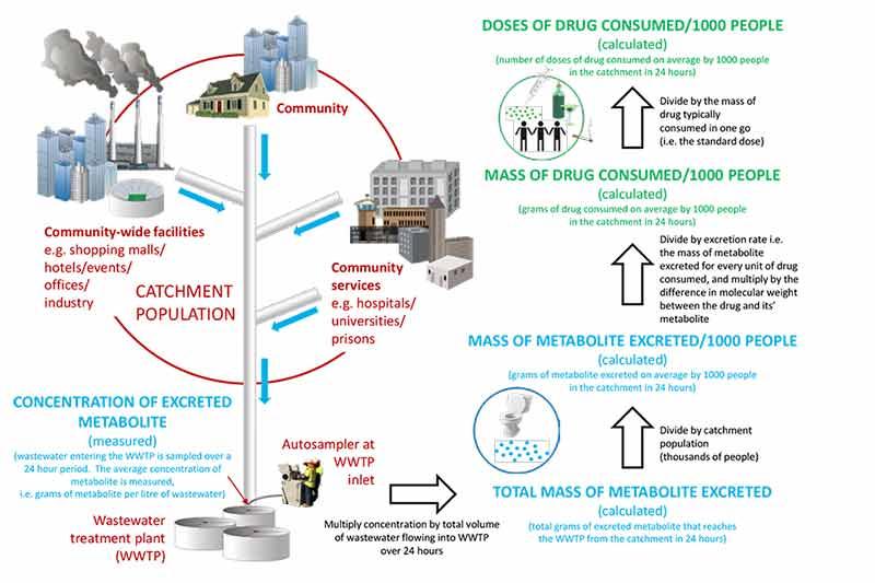 Australian Criminal Intelligence Commission using wastewater data to track illicit drug usage