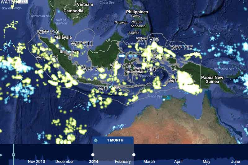 Indonesia steps forward as first nation in the world to publicly share Vessel Monitoring System data