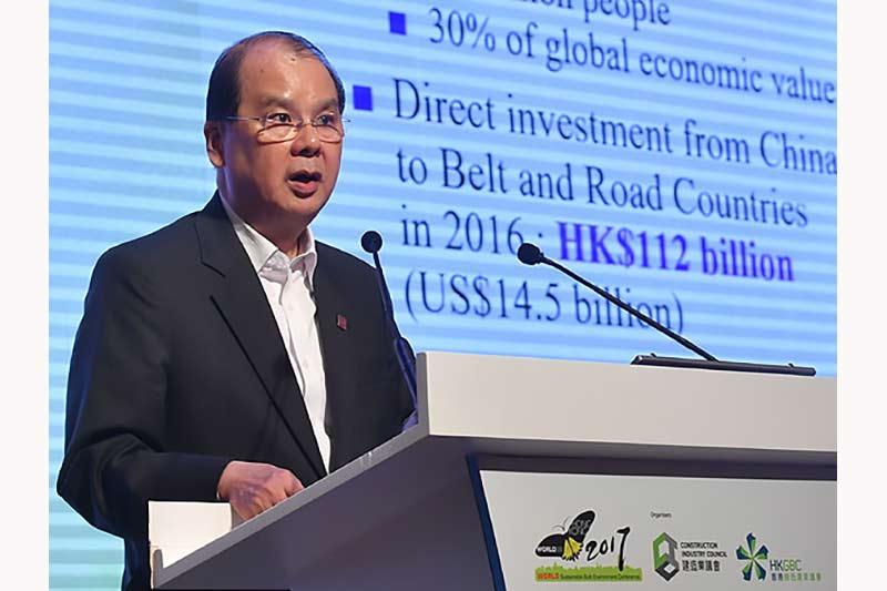 Chief Secretary Matthew Cheung outlines Hong Kong's Smart City development plans