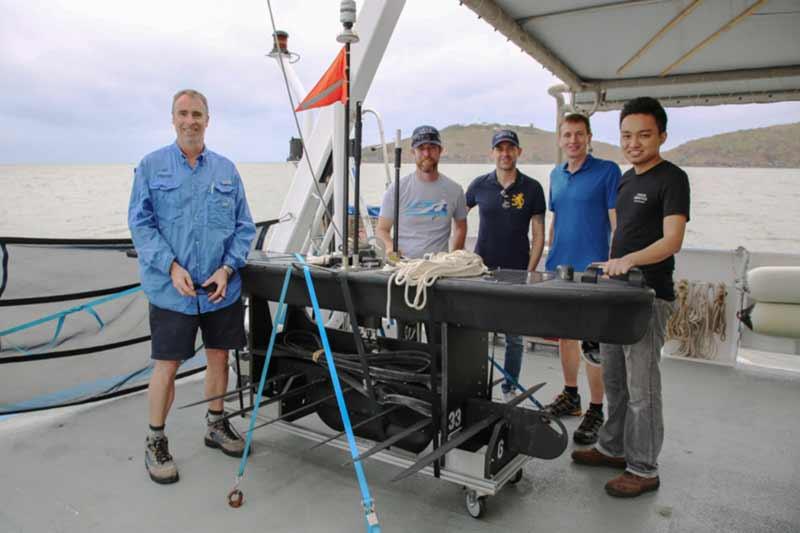 Australian Institute of Marine Science trials autonomous ocean vehicle for monitoring Great Barrier Reef