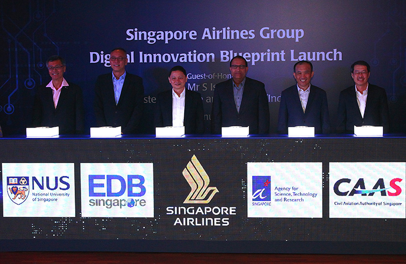 Singapore Airlines to work with government and university under its Digital Innovation Blueprint