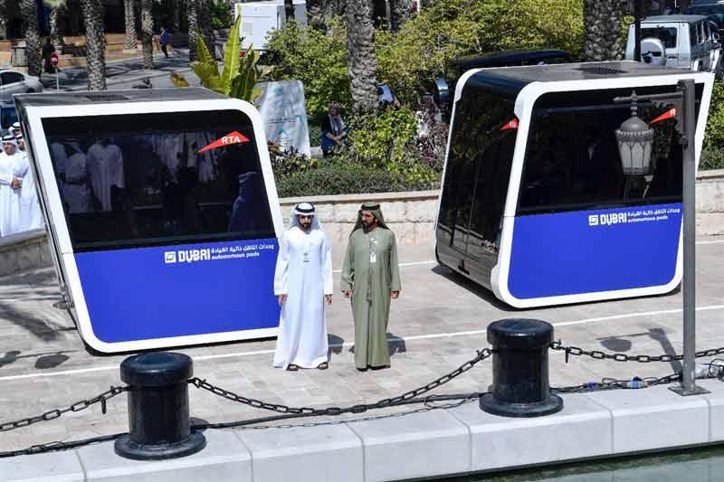 Dubai testing the use of autonomous pods for public transportation