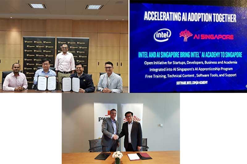 Singapore's national AI programme enters into three new partnerships