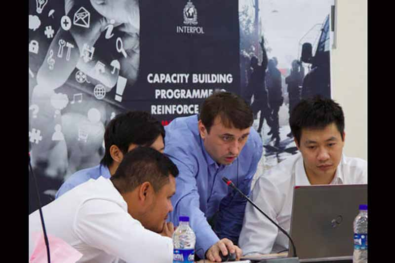 INTERPOL counter-terrorism training focuses on social media and criminal intelligence analysis