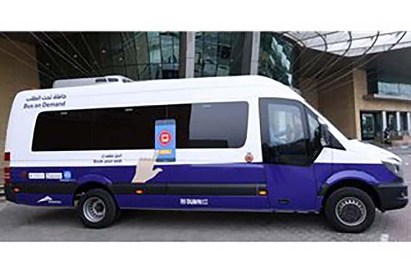 Dubai expands trial run of Bus on Demand service to Dubai Media City