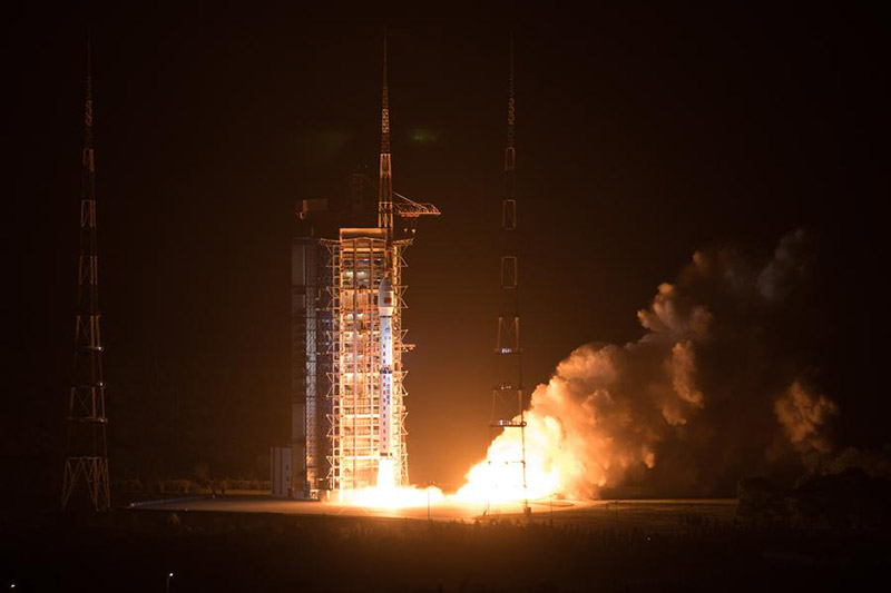 China launches new environmental monitoring satellite