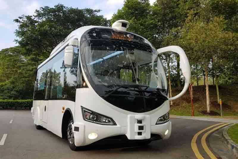 Singapore starts on-road testing for autonomous shuttles at Sentosa