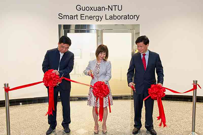 NTU sets up joint laboratory to develop innovative energy storage solutions for electric vehicles
