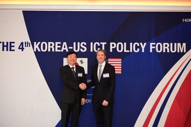 South Korea hosts the 4th Korea-US ICT Policy Forum