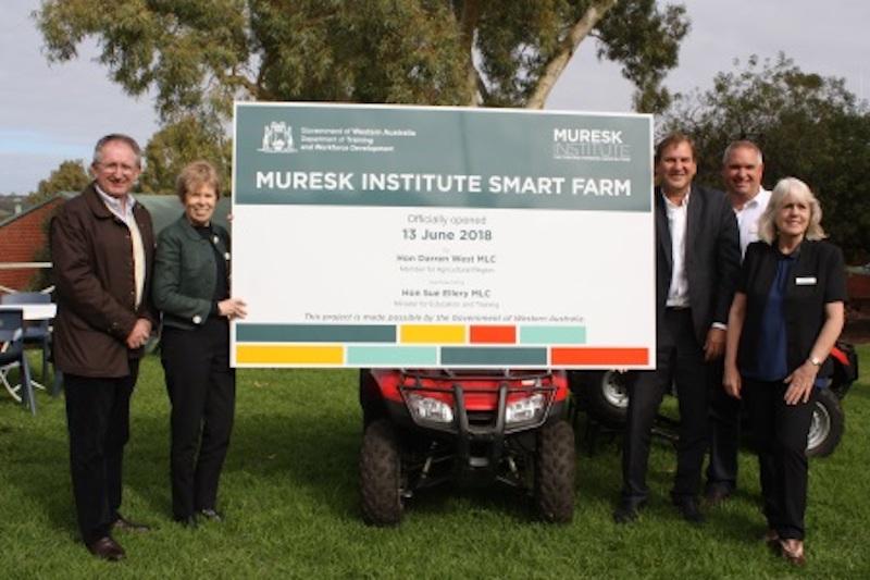 Western Australia's first demonstration SMART Farm opens at Muresk Institute