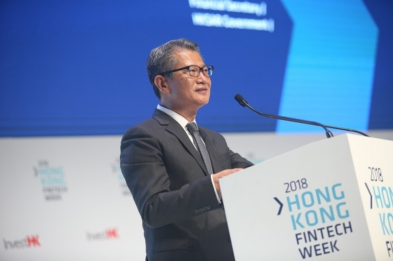 Hong Kong govt unveils grand new plans at Fintech Week