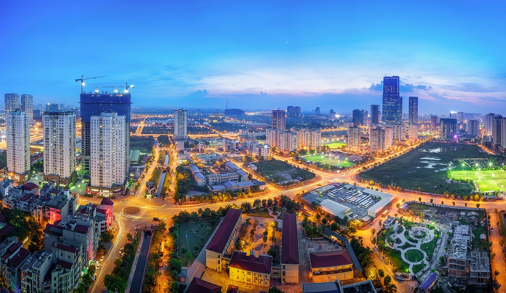 Hanoi works with international smart cities and business to